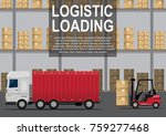 logistics center. concept of...