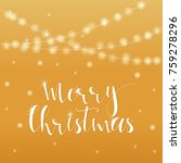 wonderful and unique festive... | Shutterstock .eps vector #759278296