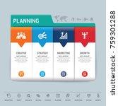 success direction  template...   Shutterstock .eps vector #759301288