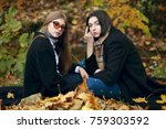 outdoors lifestyle fashion... | Shutterstock . vector #759303592