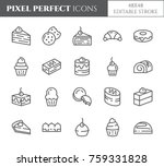 cakes and cookies related pixel ...