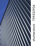 industrial corrugated steel... | Shutterstock . vector #759332926