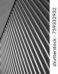 industrial corrugated steel... | Shutterstock . vector #759332932