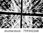 grunge black and white pattern. ... | Shutterstock . vector #759342268