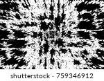 grunge black and white pattern. ... | Shutterstock . vector #759346912