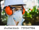 doll safety in  industry | Shutterstock . vector #759347986