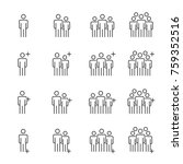 people icons line work group... | Shutterstock .eps vector #759352516