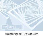 space structure. vector...   Shutterstock .eps vector #75935389