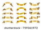 vector golden star.gold star...   Shutterstock .eps vector #759361972