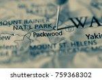 Packwood, Washington, USA.