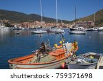 porto ercole  little city in... | Shutterstock . vector #759371698