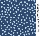 vector seamless pattern.... | Shutterstock .eps vector #759387718