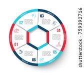 vector circle element for... | Shutterstock .eps vector #759392716