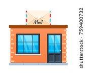 concept of modern city mail...   Shutterstock .eps vector #759400732