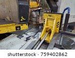 machine for cutting metal... | Shutterstock . vector #759402862