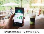 chiang mai  thailand   nov 13... | Shutterstock . vector #759417172