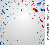 celebration background template ... | Shutterstock .eps vector #759421945