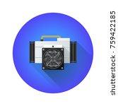 vector colorful flat design...   Shutterstock .eps vector #759422185
