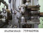 industrial factory equipment... | Shutterstock . vector #759460906