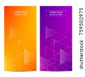 minimal covers or banner design.... | Shutterstock .eps vector #759502975