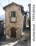 Small photo of Civitella del Tronto (Teramo, Abruzzi, Italy), medieval town