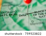 delta  colorado  usa. | Shutterstock . vector #759523822