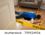 murder  kill and people concept ... | Shutterstock . vector #759524926