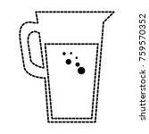 juice glass pot icon | Shutterstock .eps vector #759570352