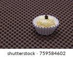 traditional brazilian sweet... | Shutterstock . vector #759584602