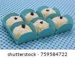 traditional brazilian sweet... | Shutterstock . vector #759584722