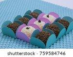 traditional brazilian sweet ... | Shutterstock . vector #759584746