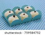 traditional brazilian sweet... | Shutterstock . vector #759584752