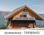 Wooden Shepherd Lodge With...