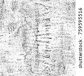 grunge black and white pattern. ... | Shutterstock . vector #759595516
