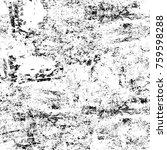 grunge black and white pattern. ... | Shutterstock . vector #759598288