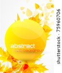abstract eps10 leaves | Shutterstock .eps vector #75960706