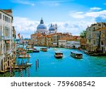 Beautiful View Grand Canal Basilica - Fine Art prints