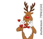 illustration with cartoon...   Shutterstock .eps vector #759612142