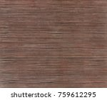 texture of bamboo mat as... | Shutterstock . vector #759612295