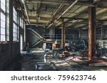 Small photo of Abandoned Decaying Room