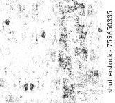 grunge black and white pattern. ... | Shutterstock . vector #759650335