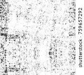 grunge black and white pattern. ... | Shutterstock . vector #759657292