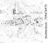 grunge black and white pattern. ...   Shutterstock . vector #759676975