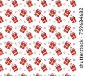 christmas gift present... | Shutterstock .eps vector #759684682