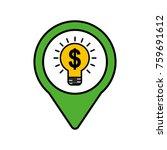 business idea money social... | Shutterstock .eps vector #759691612