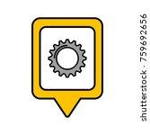 solution gear social media... | Shutterstock .eps vector #759692656