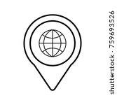 globe social media roundpointer ... | Shutterstock .eps vector #759693526