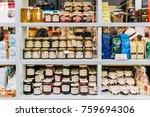 lisbon  portugal   august 11 ... | Shutterstock . vector #759694306