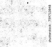 grunge black and white pattern. ... | Shutterstock . vector #759713848