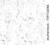grunge black and white pattern. ... | Shutterstock . vector #759716086